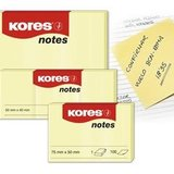 Notes Adeziv Galben Pal 100 File Kores